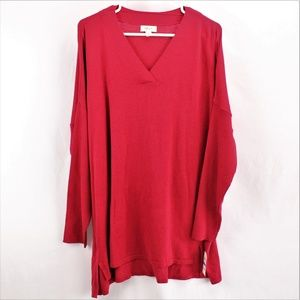 Style & Co V Neck Tunic,  Size XL